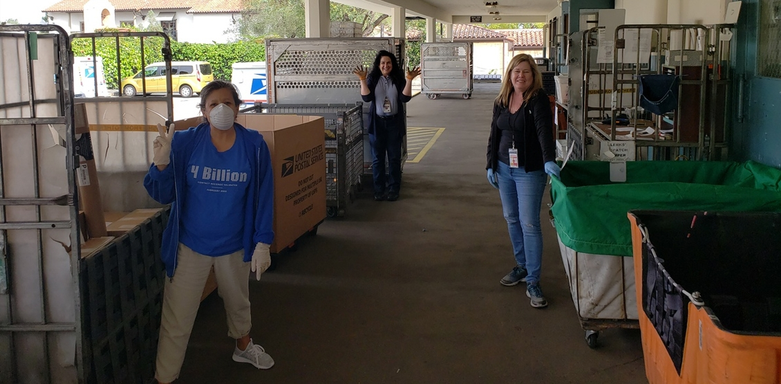 Service Objects Donates 2,000 Gloves to the United States Postal Service